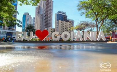 Praça do Sol no Setor Oeste vira novo cartão postal de Goiânia; veja fotos