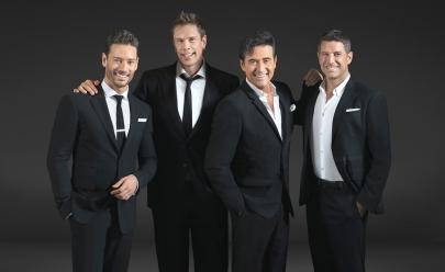 Quarteto IL DIVO faz show em Brasília