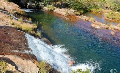 Com piscinas cristalinas, Cachoeira Prata 5 é seu novo destino paradisíaco na Chapada dos Veadeiros