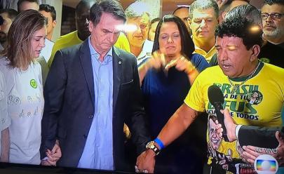 O primeiro discurso de Jair Bolsonaro foi uma oração em rede nacional