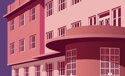 Artista europeu ilustra monumentos de Goiânia: 'arquitetura fabulosa' diz ele