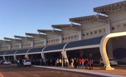 Novo terminal do aeroporto de Goiânia começou a operar na madrugada deste sábado, 21