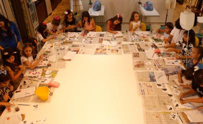 Clube de Costura é alternativa para a criançada durante as férias em Goiânia