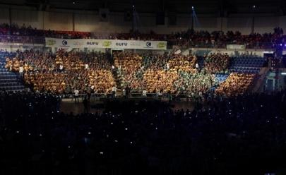 Uberlândia entra no Guinness Book com maior orquestra de viola do mundo