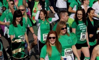 Brasília recebe evento esportivo em homenagem ao St Patrick's Day