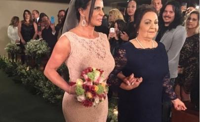 Gretchen se casa pela 17ª vez; veja fotos