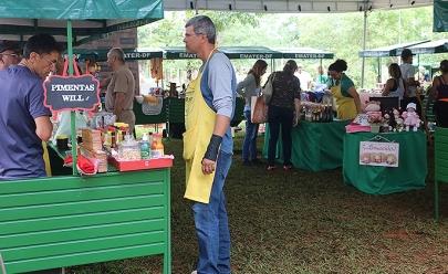 Segunda edição de feira orgânica acontece em cartão postal de Brasília