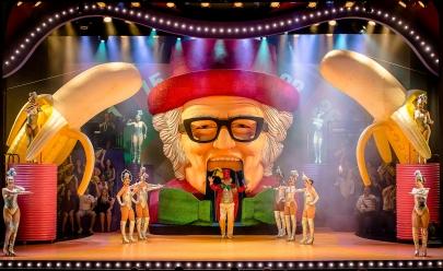 Espetáculo 'Chacrinha, O Musical' desembarca em Goiânia em outubro