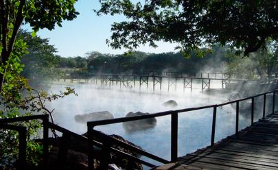 4 cidades goianas com águas quentes para você aproveitar o tempo frio