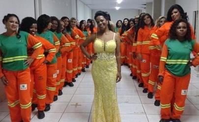 Garis do Distrito Federal participam de concurso de beleza