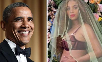 Barack Obama revela 'sem querer' o sexo dos gêmeos de Beyoncé