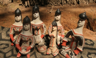 Galeria de Arte Basileu França recebe exposição de arte Alteridades: Contemplações Karajá em Goiânia