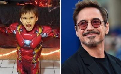 Robert Downey, o 'Homem de Ferro' manda vídeo emocionante para fã com câncer