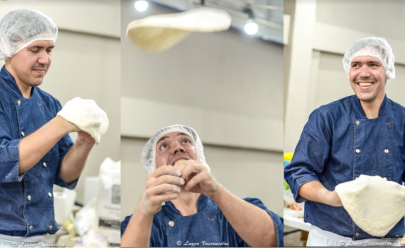 Pizzaiolo da Artesano realiza curso 'Fazendo Pizza Artesanal em Casa' nesta quarta-feira em Goiânia
