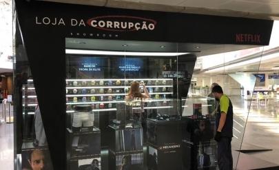 Aeroporto de Brasília ganha 'Loja da Corrupção'