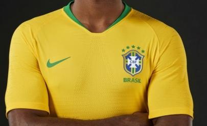 Brasil define uniforme que usará nos três jogos da primeira fase