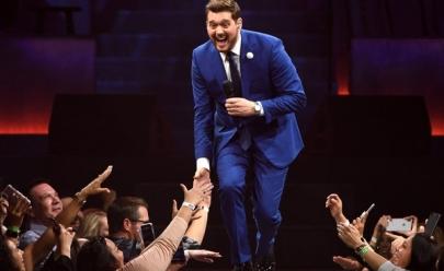 Michael Bublé anuncia três shows no Brasil em 2020