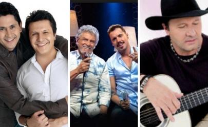 Gian & Giovani, Mato Grosso & Matias e Paraná fazem show em Brasília