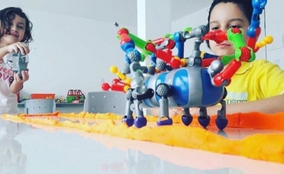 Shopping de Goiânia oferece oficina de construção gratuita para crianças