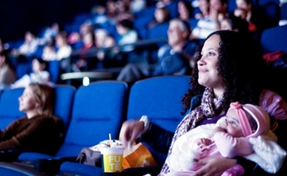 CineMaterna: projeto em Brasília exibe sessão de cinema para mães e os seus bebês