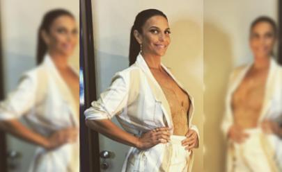 Fazendo graça no Instagram, Ivete Sangalo anuncia que está grávida de gêmeos