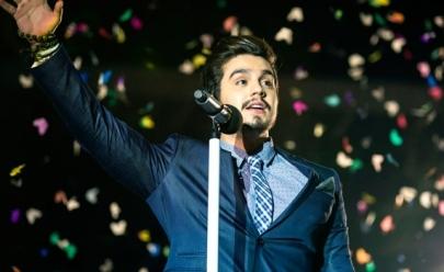Luan Santana faz show beneficente em Brasília