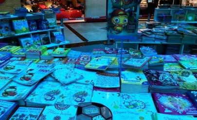 Com mais de 3 mil títulos, feira do livro para crianças chega a Goiânia