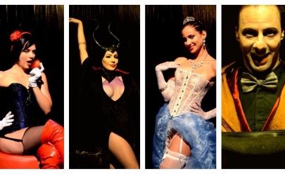 Espetáculo em Brasília mostra personagens infantis em versão para maiores de 18 anos