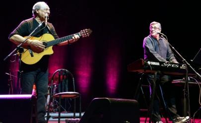 Toquinho e Ivan Lins fazem show '50 Anos de Música' em Goiânia