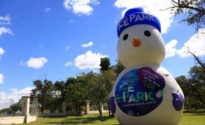 Programação do Brasília Ice Park para o final de semana