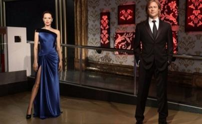 Museu de cera Mademe Tussauds separa bonecos de Brad Pitt e Angelina Jolie