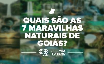 77 atrativos goianos concorrem ao título de 7 Maravilhas Naturais de Goiás