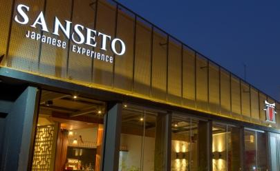 Sanseto Japanese oferece jantar romântico