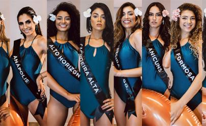 Conheça as 15 candidatas do Concurso Miss Goiás 2019