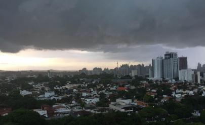 Temporal,ventaniaechuvadegranizodevem atingir várias regiões de Goiás nos próximos dias