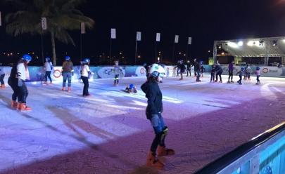Às margens do Lago Paranoá, pista de patinação no gelo animará o inverno de Brasília