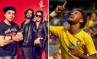 Jota Quest faz show em evento oficial da Copa do Mundo em Brasília