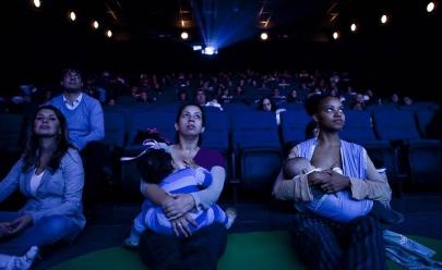 Conheça o Cine Materna, o cinema para as mães (e pais)