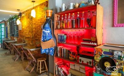 Empório Armário Brechó e Suqueria mistura moda, gastronomia, arte e cultura no Centro de Goiânia
