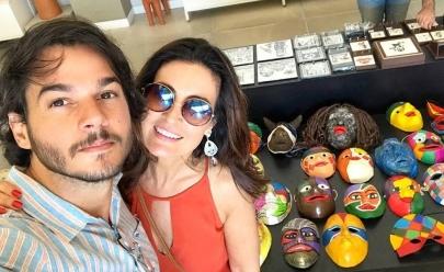 Folião de Brasília surpreende Fátima Bernardes em carnaval de rua. Veja o vídeo