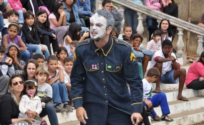 Fim de semana com teatro de graça nos parques de Goiânia