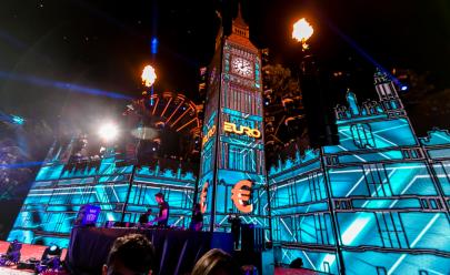 Com mega estrutura inspirada na Grécia, Festa Euro 2018 acontece por duas noites em Goiânia