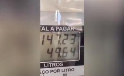 Vídeo denunciando fraude em posto de Goiânia viraliza e Procon se pronuncia