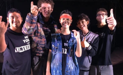Banda formada por jovens autistas se apresenta em Brasília