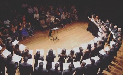 Coro Sinfônico de Goiânia apresenta grandes obras da música brasileira no Teatro Basileu França