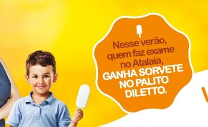 Laboratório em Goiânia distribuirá sorvete no palito até o final do verão