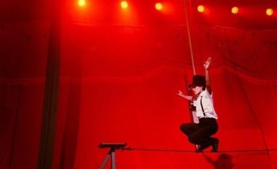 Festival reúne várias atrações circenses de tirar o fôlego, em Uberlândia