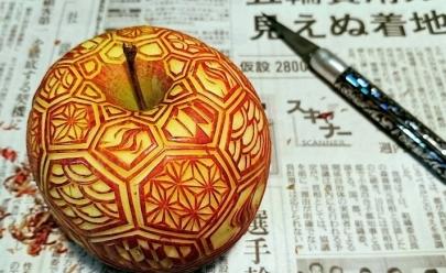 Goiânia recebe curso de esculturas em frutas e legumes