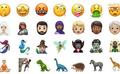 Apple libera novos emojis para iPhones e iPads