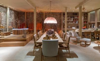Contornos do Cerrado: designer de interiores une fogo e sustentabilidade na Casa Cor Goiás